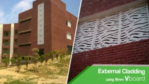 External Cladding using Vboard