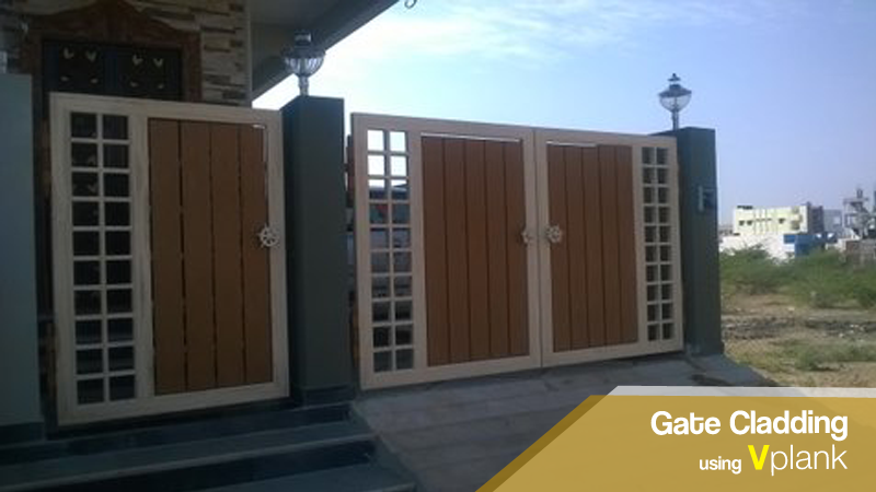 Gate Cladding using Vplank
